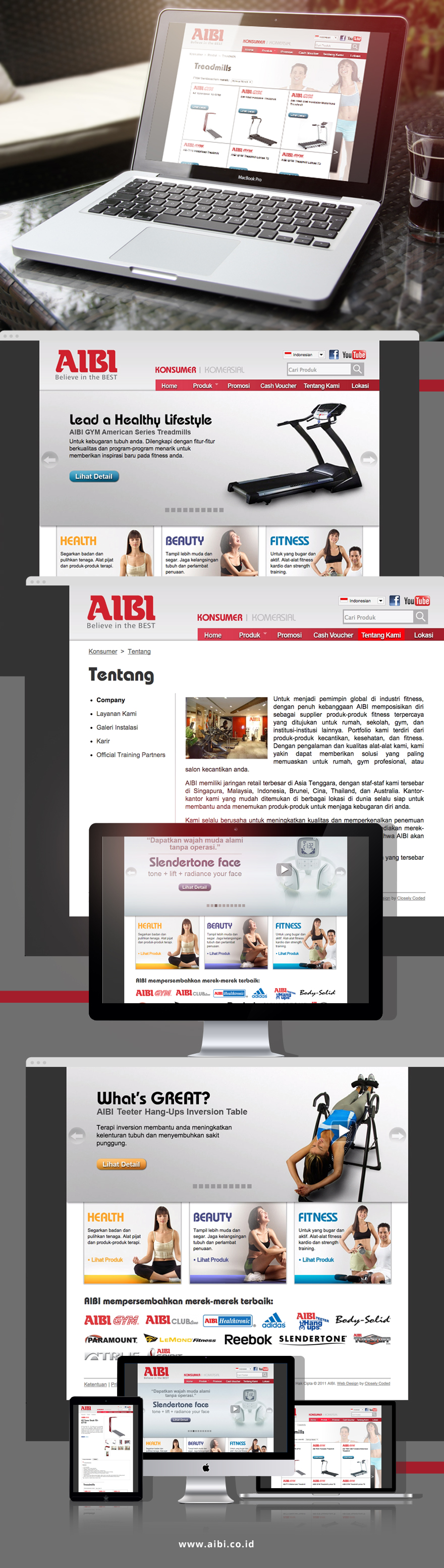 Projects - AIBI Fitness