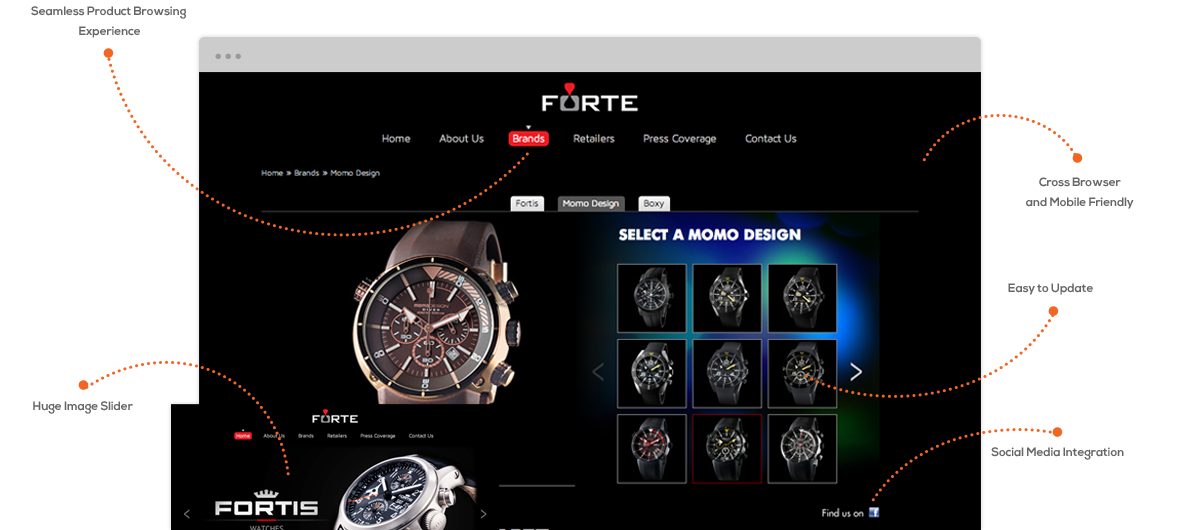 Website Design Singapore - Forte Luxury Singapore