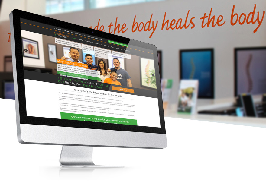 Projects - Full Potential Chiropractic