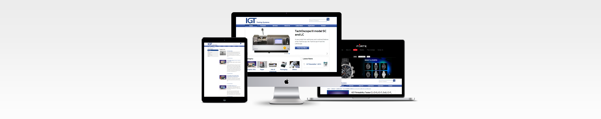 Website Design Singapore - IGT Testing Systems