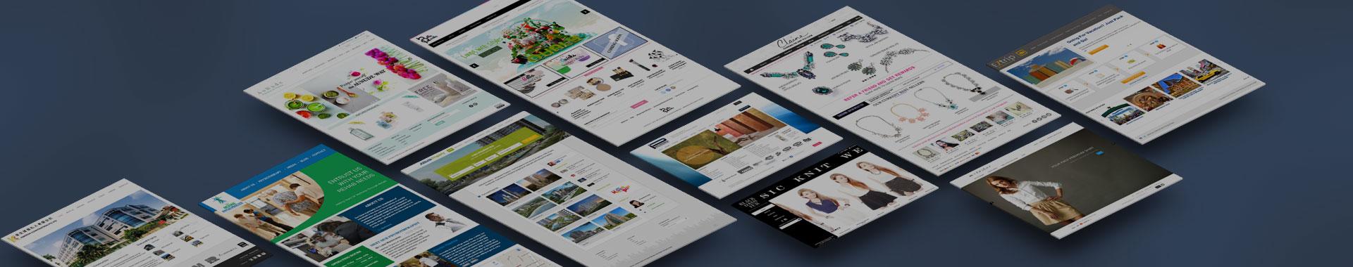 Website Design Singapore - Halo Lifestyle Gallery