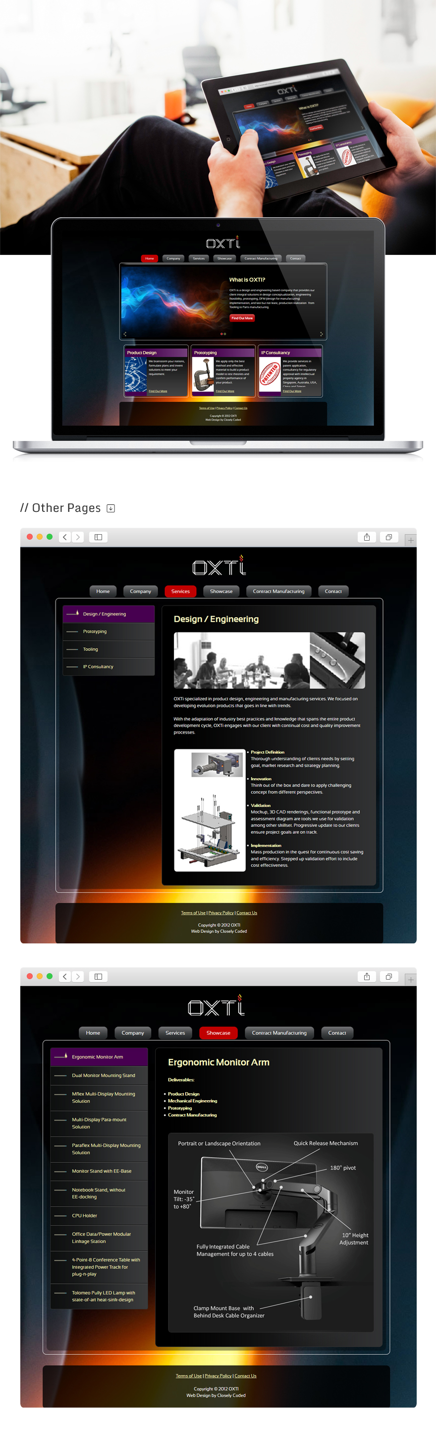 Projects - Oxti