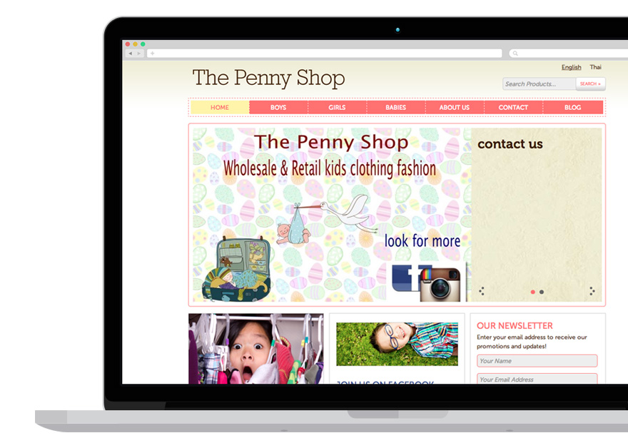 Projects - The Penny Shop