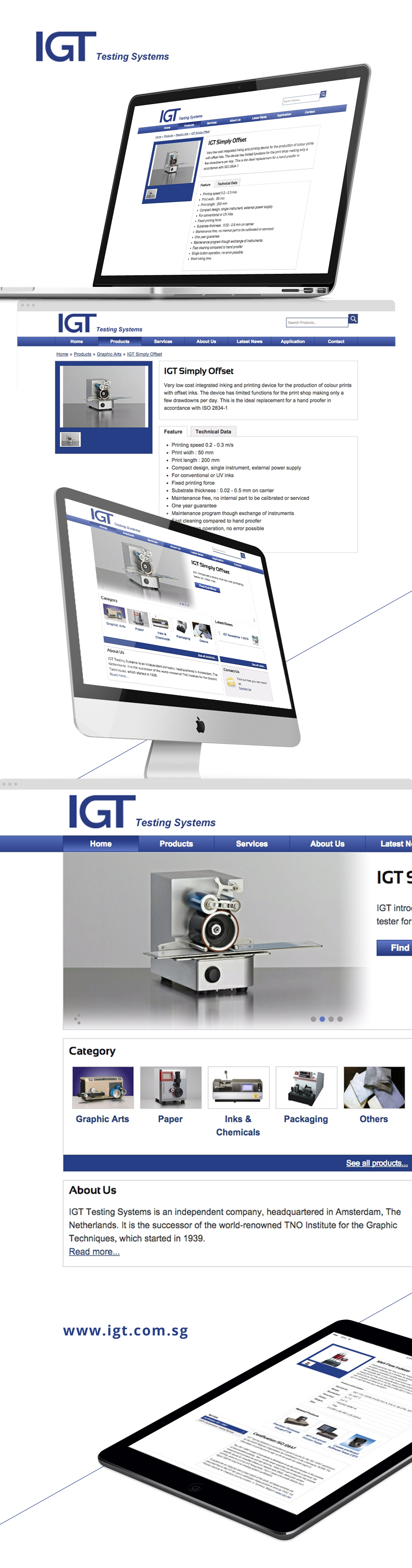 Projects - IGT Testing Systems
