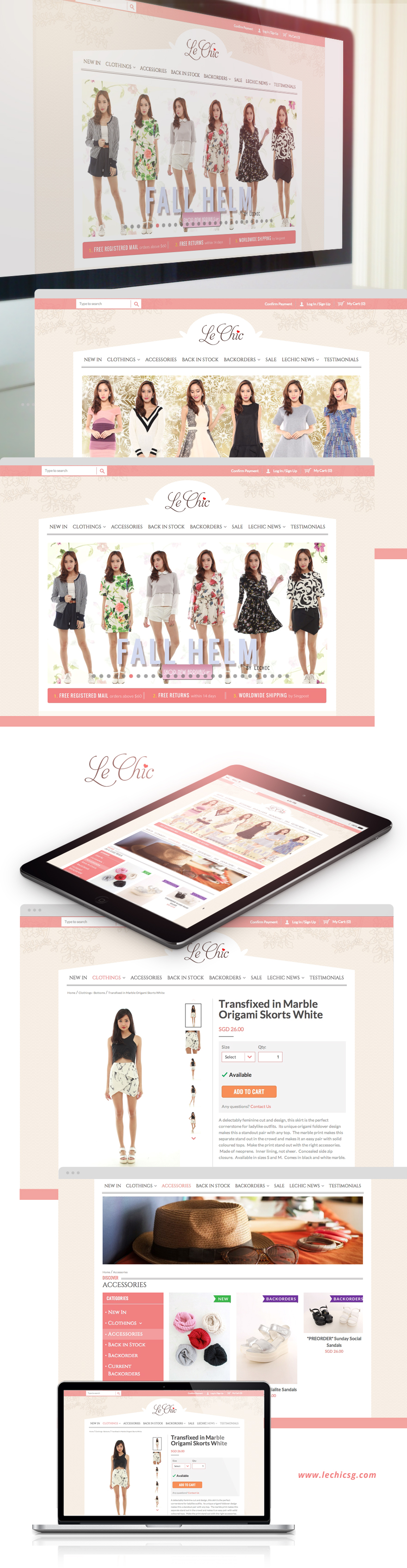 Projects - LeChic