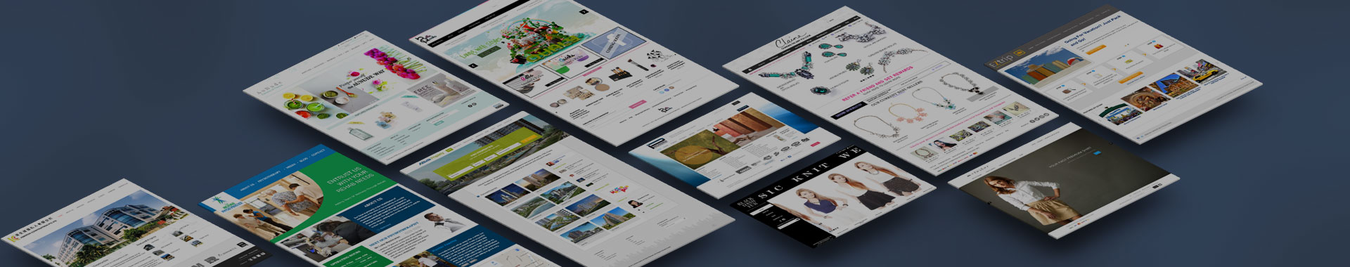 Website Design Singapore - The Rosette Label