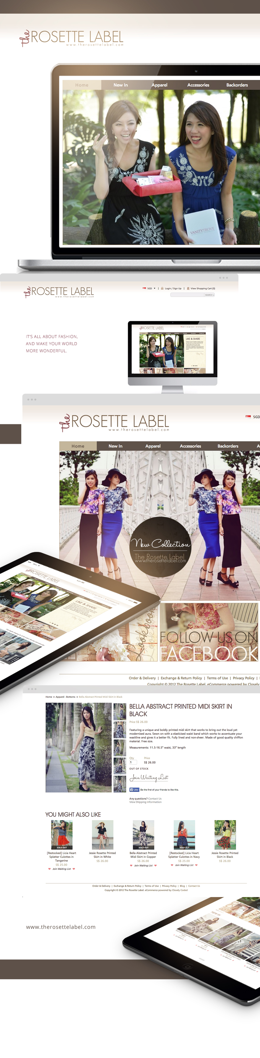 Projects - The Rosette Label