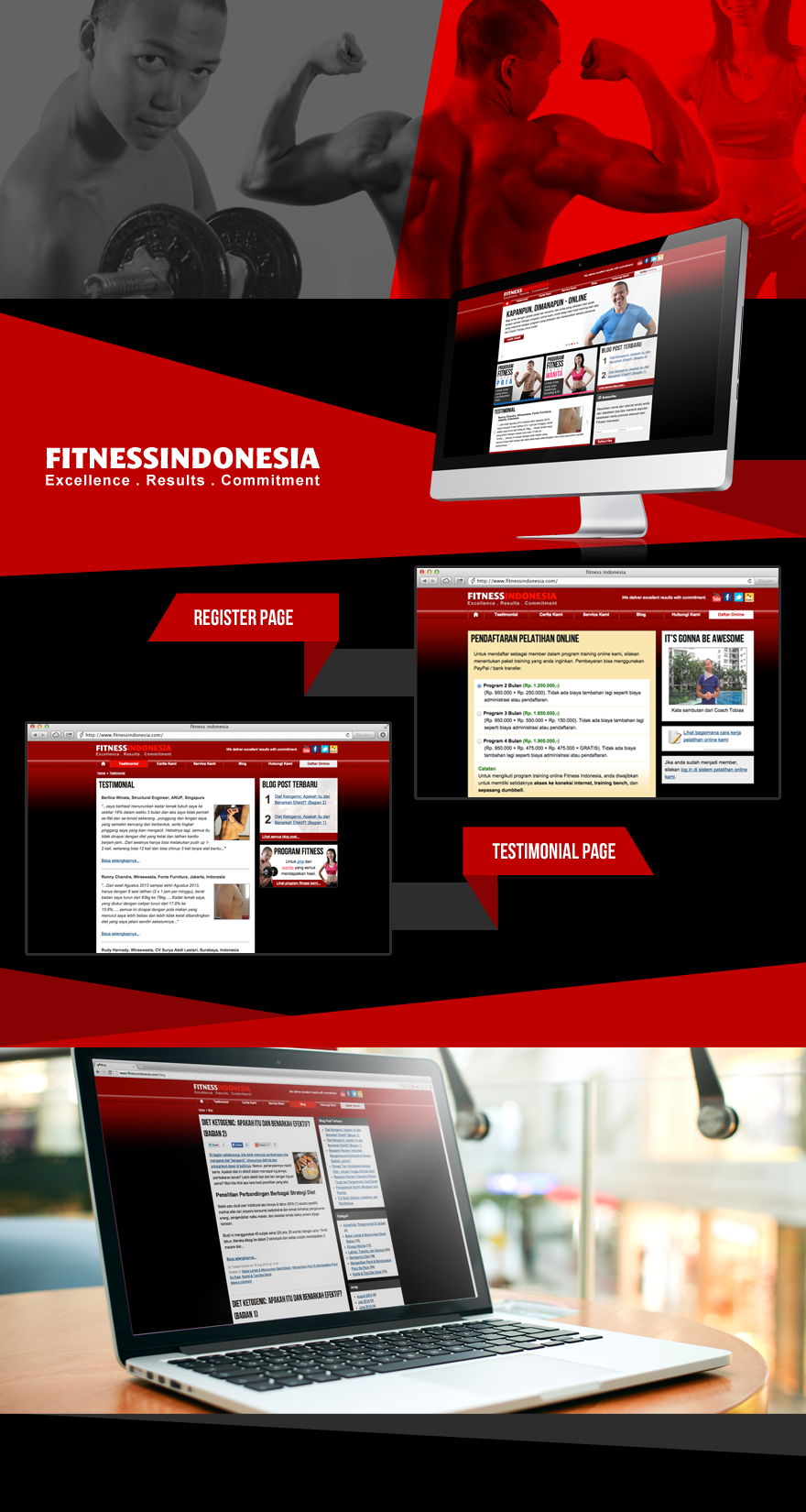 Projects - Fitness Indonesia